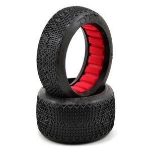 엑스캅터 - AKA Typo 1/8 Buggy Tires (2) (Super Soft)