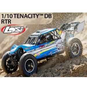 엑스캅터 - 1/10 TENACITY-DB 4WD Desert Buggy RTR with AVC, Blue/Yellow