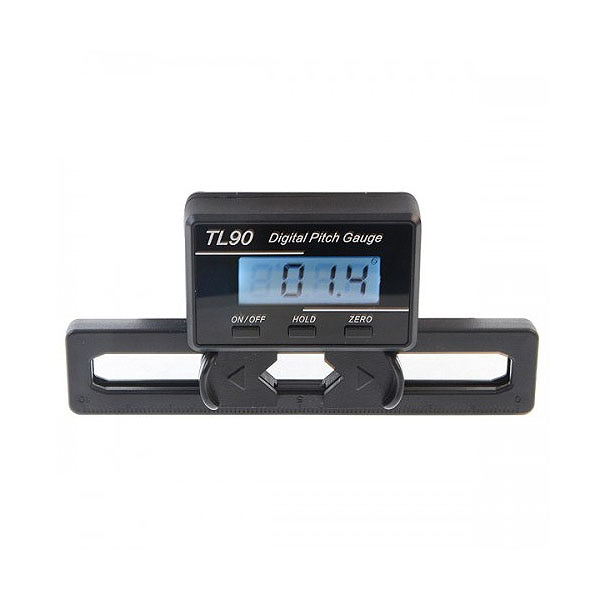 엑스캅터 - BUYRC TL90 LCD Digital Pitch Gauge For ST250-800 Flybarless Helicopter(디지털 피치게이지/배터리 2개 포함)