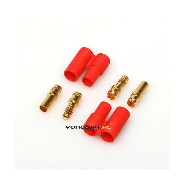 엑스캅터 - (2 PIN) 3.5mm 골드 connector with one housing (2 X 2조)