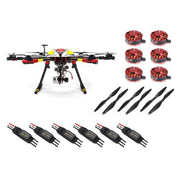 엑스캅터 - 타롯 IRON-MAN 680 PRO HEXA COPTER Basic Combo(6S/22.2V/EDU Vesrion)