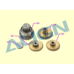 엑스캅터 - DS415M Servo Gear Set