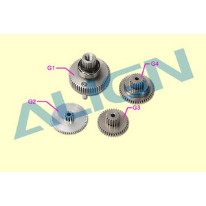 엑스캅터 - BL700H Servo Gear Set
