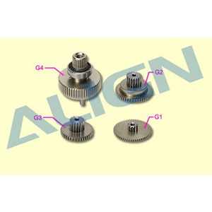 엑스캅터 - DS655 Servo Gear Set