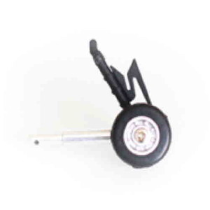 엑스캅터 - [블랙호크 부품] front wheel right stand(green black) (NE400386)