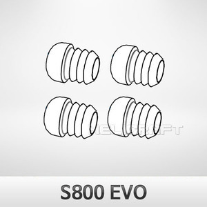 s800 evo silicone rubber of h frame 4pcs