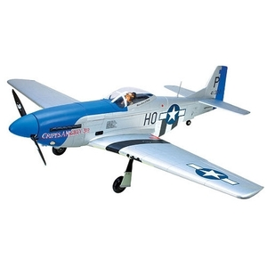엑스캅터 - RC 비행기 Park Zone P-51D Blue Nose 60 ARF
