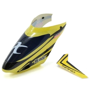 [NCPX 부품] Complete Yellow Canopy w/Vertical Fin - 드론정보 & 쇼핑