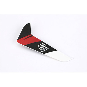 엑스캅터 - [120SR 부품] Vertical Fin with Red Decal (BLH3120R)